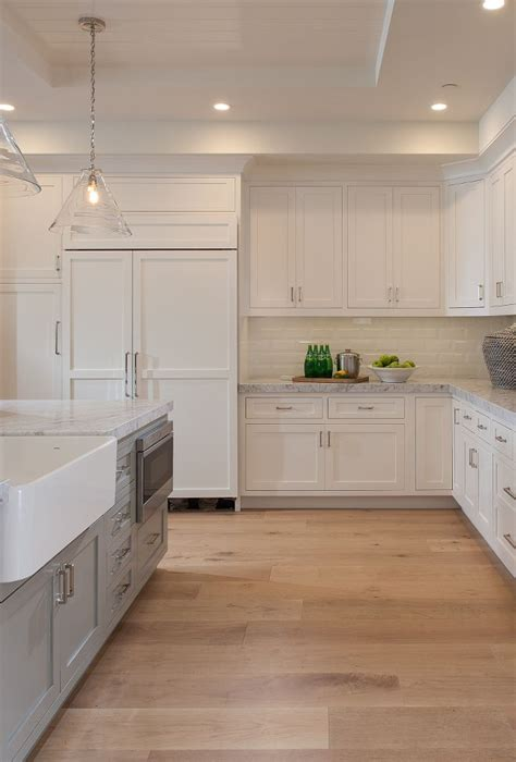 1000 ideas about wood floor kitchen on white