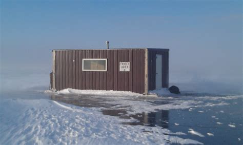 Lake Of The Woods Sleeper Houses by Fishing Sleepers Lake Of The Woods Winter Lodging
