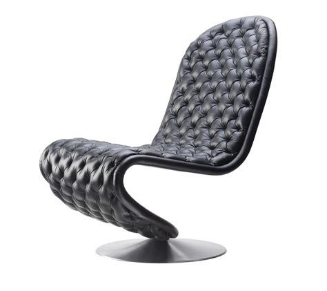 verner panton chaise chaises verner panton en cuir pleine fleur de seanroyale