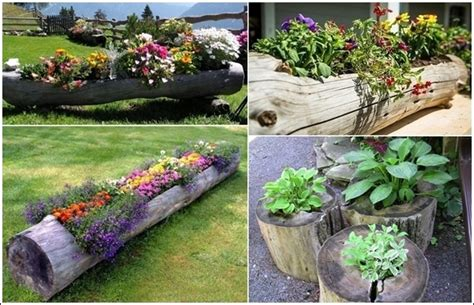 home and garden decor fab diy log home garden decor ideas