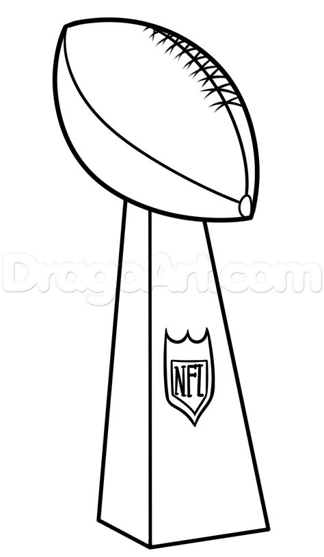 Trophy Line Drawing