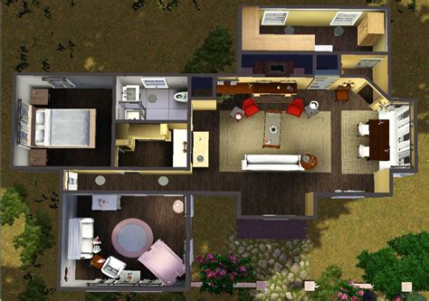 Bath Floor Plans by Mod The Sims Cottage Edward Bella Breaking Dawn Part 2