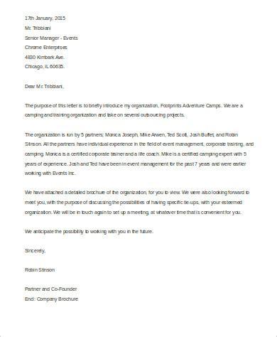 New Patient Introduction Letter sle business introduction letter 3 exles in word pdf