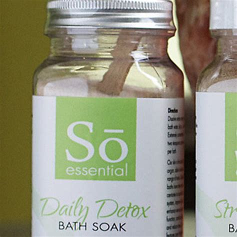 Essential Daily Defense Detox by Buy So Well Essential Daily Detox Bath Soak 11 Oz By So