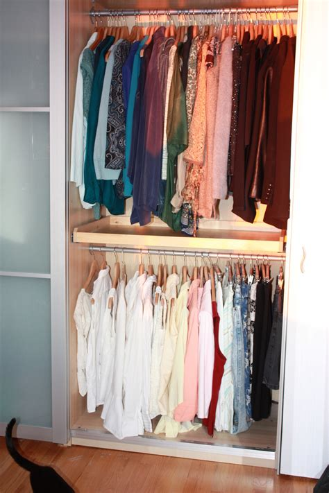 Clothes Rod For Closet by 40 Tips For Organizing Your Closet Like A Pro