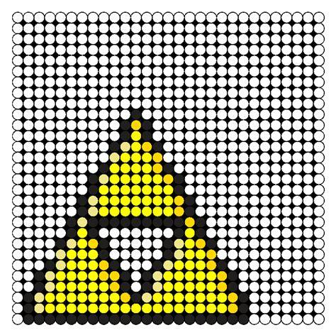 zelda bead pattern zelda triforce perler bead pattern bead sprites misc
