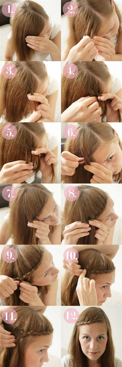 15 braided bangs tutorials easy 20 most beautiful braided hairstyle tutorials for 2014