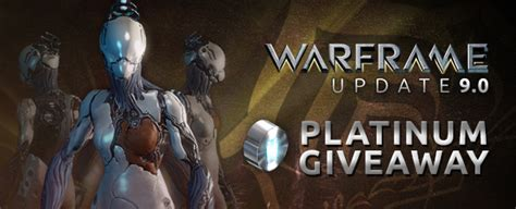 Warframe Com Giveaway - warframe update 9 free platinum giveaway worth 499