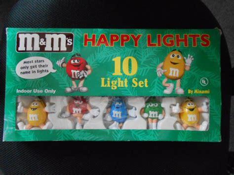 m m lights m m s mars happy lights 10 light string set