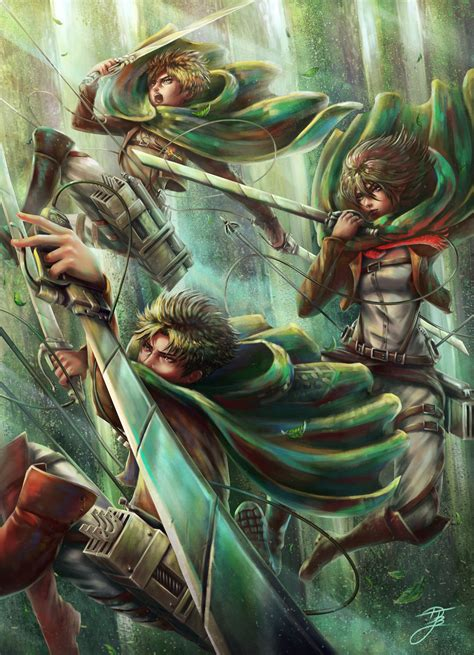 attack on titan fan attack on titan fan by djbshadow on deviantart