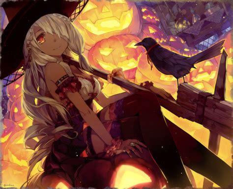 imagenes halloween chica anime anime halloween on tumblr