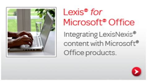 lexis for ms office