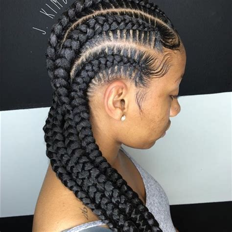 cornrows in front braids in back houston other feed in braids poshmark