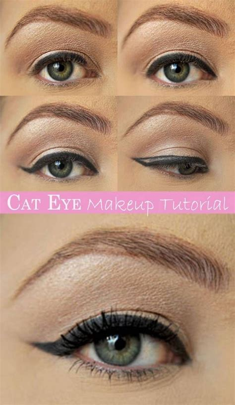 cat eye makeup tutorial cat eye makeup tutorial pictures photos and images for