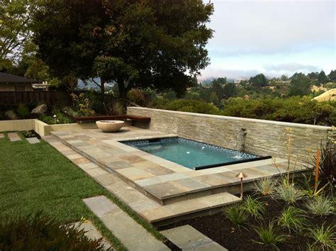 impressive plunge pool vogue san francisco modern