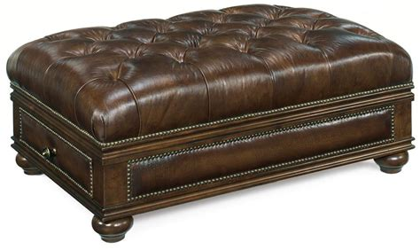 leather ottoman with drawers quick ship leather ottoman with drawer