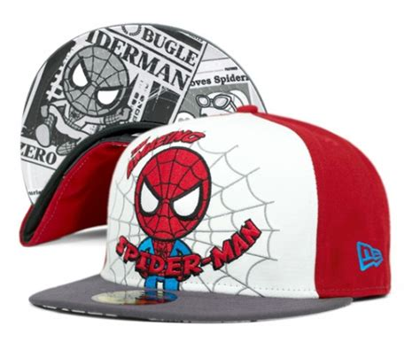 Po New Era Cap 9fifty X Tokidoki Marvel tokidoki x marvel x new era 59fifty fitted caps collection