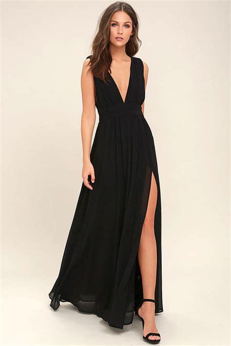 black dress black gown maxi dress sleeveless maxi dress 84 00