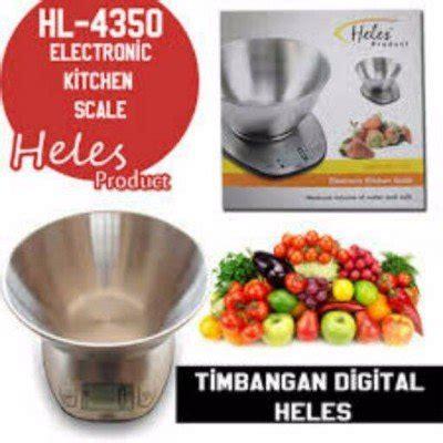Timbangan Kue Digital Heles jual beli heles hl 4350 timbangan kue dapur digital