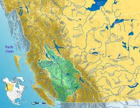 fraser river on map of canada 2009 august 171 earth