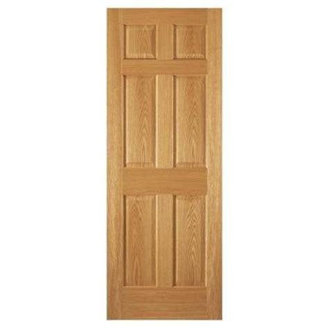 oak interior doors home depot steves sons 30 in x 80 in 6 panel unfinished oak