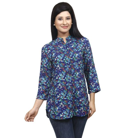 Tunik Rayon 1 buy wisstler multi color rayon tunics at best prices in india snapdeal