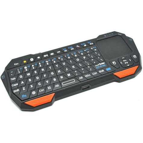 qq keyboard bluetooth mini dengan touchpad mouse black