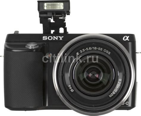 Kamera Sony Nex F3d sony alpha nex f3d kit sel1855 18
