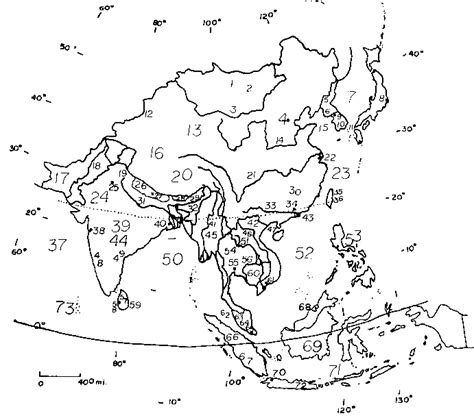monsoon asia map blank map of asia with rivers and mountains