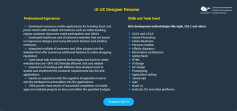 User Interface And Resume And Java Script And Not by Hire Skilled Ui Ux Designers At Cheaper Prices Mobilunity