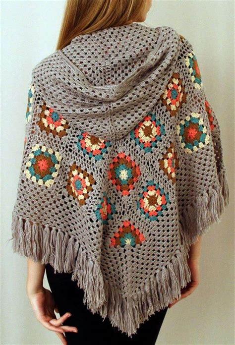 crochet poncho 16 diy ideas about crochet hooded cap shawl diy to make