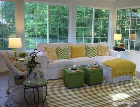 sunroom sectional sunroom sofa my sunroom in the fall hooked on houses thesofa