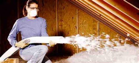 home depot blown in insulation install blown in attic insulation