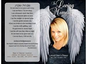 Funeral Memorial Program Templates Free by Funeral Program Template Word Form Pdf Excel