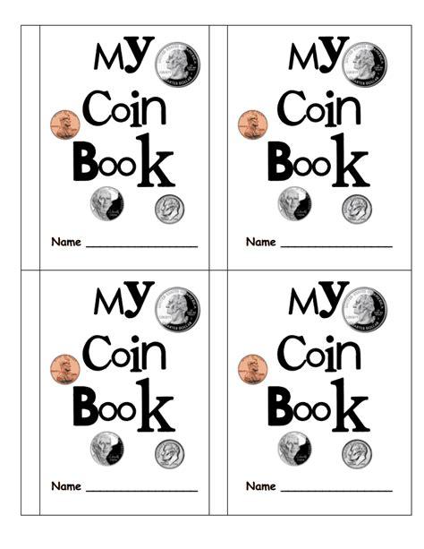 kindergarten activities book pdf my coin book pdf first grade math pinterest coins
