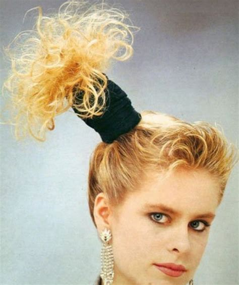 prom hair style of the 70 s 1980 hairstyles for women