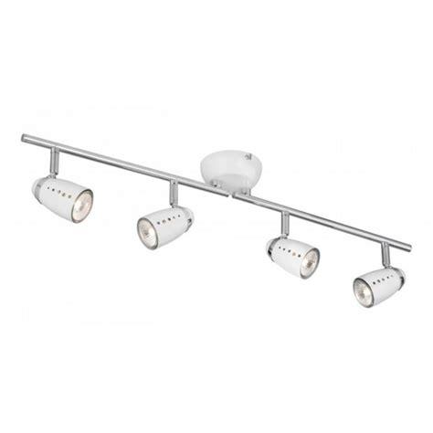 Ceiling Spotlight Bar by White Spotlight Ceiling Bar Adjustable Halogen Spotlights