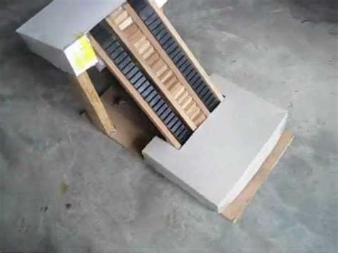 Handmade Science Models - escalator working model