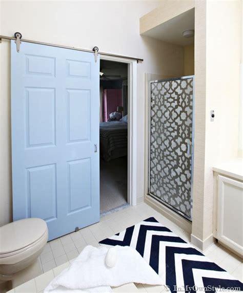 door alternatives for bathroom design inspiration rolling barn doors giveaway jenna
