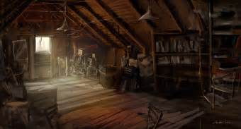 the memories gathered in the attic spring glimpse attic the inspector