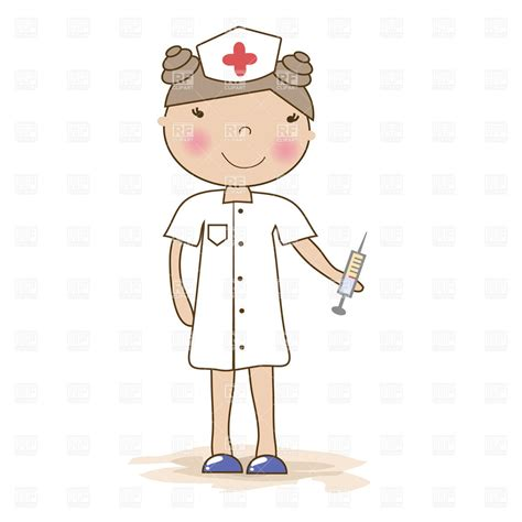 how to make nurse sculpture hair clip nurse with syringe clipart 101 clip art