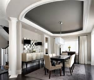 Dining Room Ceiling Ideas by Creating The Illusion Of Space With Ceiling Color
