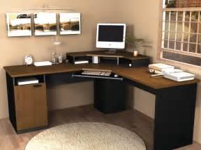 Corner Desk Computer Workstation Bestar Hton Corner Computer Desk