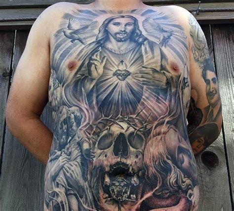 cross tattoos on stomach 25 amazing religious ideas for