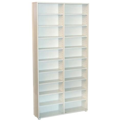 estantes para dvd b 252 rohaus estante para colecionador cd dvd e livros