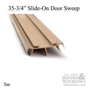 Benchmark Patio Doors Door Bottom Sweep Pease Slide On 35 3 4 Quot Long Tan