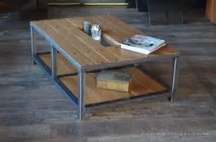 davaus net table de salon industriel avec des id 233 es