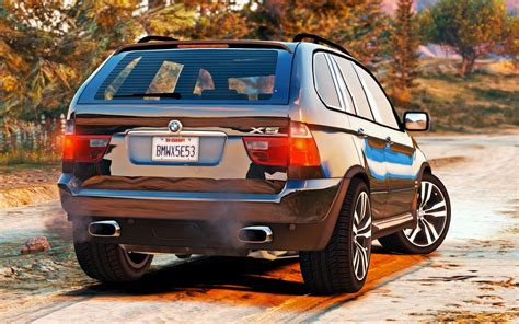 Bmw E53 by Bmw X5 E53 2005 Sport Package Add On Replace Gta5