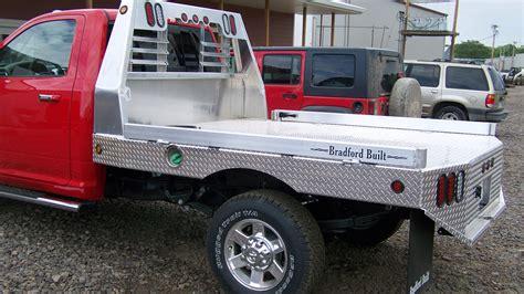 bradford truck bradford built truck beds go with trailer inc