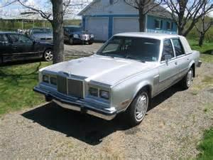 1985 Chrysler Fifth Avenue 1985 Chrysler Fifth Avenue Pictures Cargurus